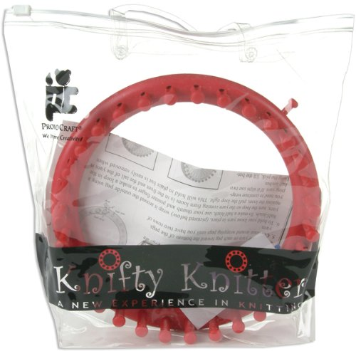 UPC 093573985225, Provo Craft Knifty Knitter Looms - Medium/Red
