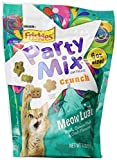 Cheap Purina, Friskies, Party Mix Cat Treats, Meow Luau Crunch (Pork, Ocean Fish & Crab Flavors), 6oz Pouch (Pack of 4) by Purina