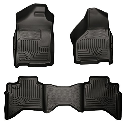 Husky Liners Front & 2nd Seat Floor Liners Fits 02-08 Ram 1500 Quad Cab ()