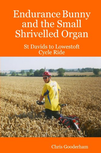Endurance Bunny and the Small Shrivelled Organ - St Davids to Lowestoft Cycle Ride