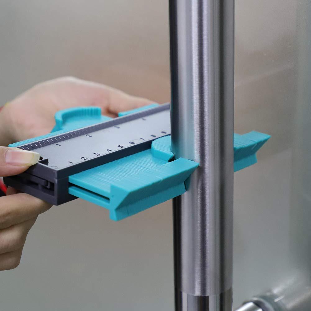 copia calibri Profilo strumento di misurazione Peen strumento di misurazione duplicatore irregolare Profile misuratore 125 MM