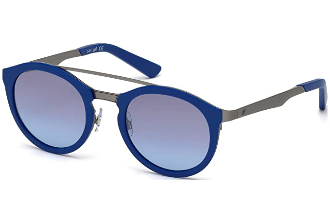 Gafas de sol Web WE0143 C49 91X (matte blue / blu mirror ...