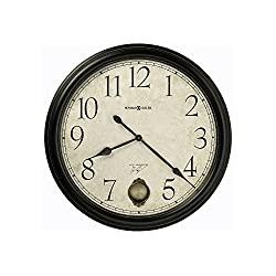 Glenwood Falls Gallery Wall Clock Black Satin Dimensions: 3D X 36 Diameter Weight: 14 Lbs