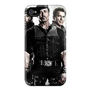 Awesome RFsHITxp2555 DiamondCase Defender Tpu Hard Case Cover For Iphone 4/4s- The Expendables 2