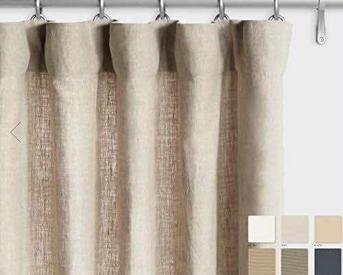 Amazon.com: Belgium Linen Curtains Linen Drapes 10+ Colors