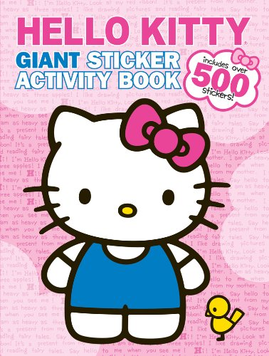 Bendon Hello Kitty Giant Sticker Activity Book from Bendon Inc.