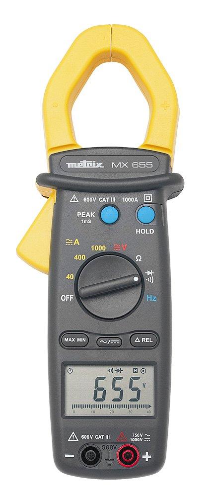 Metrix mx0655 de Z vielf achmess Alicate Incluye Bolsa de transporte ...