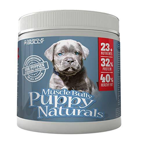 Muscle Bully Puppy Naturals (60 Serving) - A Healthy Nutritional Formula for Growing Puppies (for All Breeds). (30 Servings (Trial))