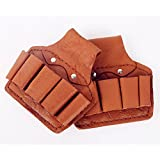 Amazing Leather Tool Pouch | Five Pockets to hold your Tools | Great as an Electrician's/Technicians Tool Pouch | Amazing as a Carpenters Tool Pouch or as an everyday handy Tool Pouch