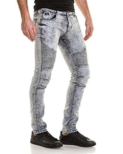BLZ Jeans - Vaquero - para hombre gris