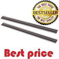 [Best] 10Stück 82mm umschaltbar Hobelmesser/Messer für makita-bosch-hitachi