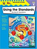 img - for Using the Standards - Number & Operations, Grade K (The 100+ Series) book / textbook / text book