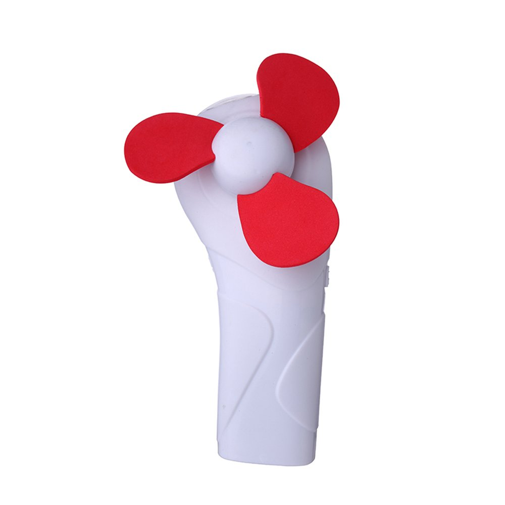 Dichuan Personal Hand-held/Portable Battery Operated Mini Air Fan ,mini Fan Battery Operated, for Office Room Outdoor Household Traveling(5, Color)