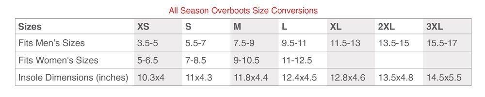 NEOS 10'' Voyager Nylon All Season Waterproof Overshoes (VNN1) by NEOS Overshoe (Image #7)