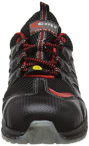 """Cofra 30190–000.w40Tamaño 40""""Escalada S1P SRC ESD zapatos de seguridad, color negro y naranja"""
