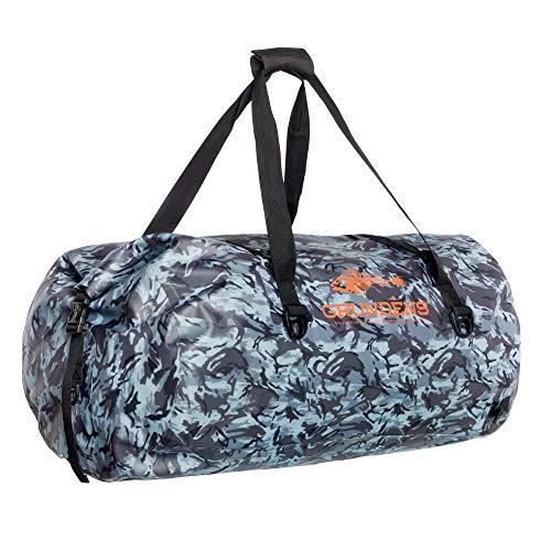 Grundéns 105 Liter Shackelton Duffel Bag, Refraction Camo Dark Slate - One Size
