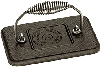Lodge Cast Iron 6.75 In. x 4.5 In. Grill Press