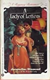 A Lady of Letters, Jacqueline Diamond, 0446352829