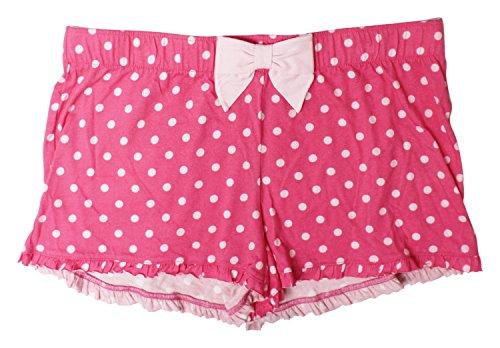 Jenni Cotton Polka Dots Boxer Shorts Pink M (Boxers Polka Dots)