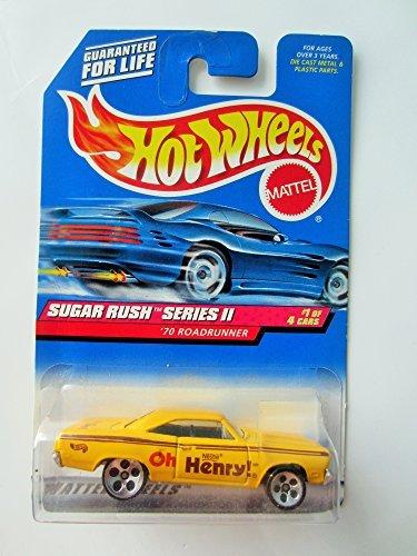 Hot Wheels Sugar Rush Series II '70 Roadrunner #969 1:64 Scale - Hot Wheels Sugar