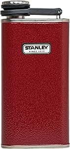 Stanley Classic Flask, Hammer Tone Crimson, 8-Ounce
