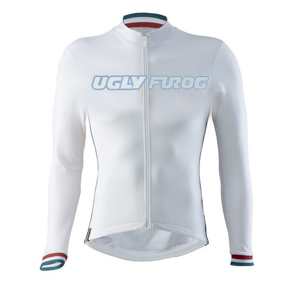 29b28d543 Amazon.com   Uglyfrog 2016 Newest Mens Sports Wear Outdoor Sports Long  Sleeve Cycling Jersey Autumn with Fleece Thermal Bike Bicycle Top wcx25    Sports   ...