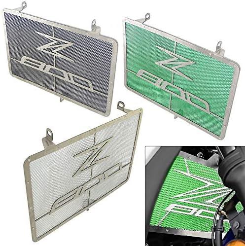 Repuestos Powersports Radiador refrigerador de agua Rejilla De La Guardia protector for cubrir KAWASAKI Z 800 E Z800 Z800E ZR800 ABS 2013 2014 2015 2016 2017 2018 2019 Color : Green
