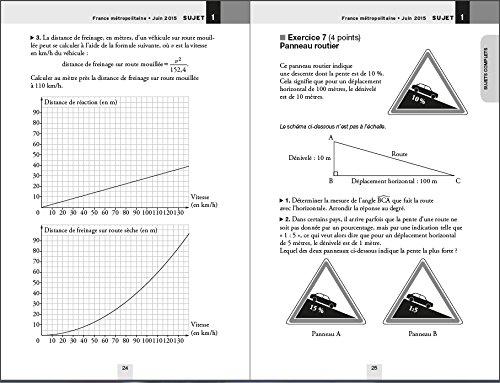Annales Annabrevet 2016 Maths 3e: Sujets du brevet non corrigés: Amazon.es: Bernard Demeillers: Libros en idiomas extranjeros