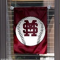 MSU Bulldogs Baseball Garden Flag and Yard Banner