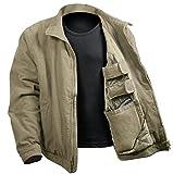 Rothco 3 Season Concealed Carry Jacket, Khaki, Medium