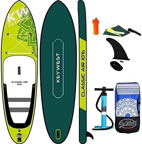 Key West - Paddle Hinchable Classic Air 10.6: Amazon.es: Deportes ...