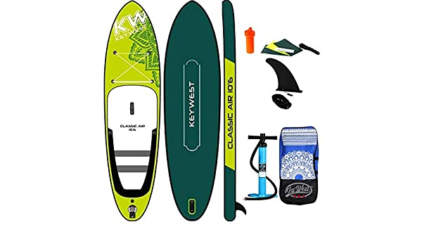 Key West - Paddle Hinchable Classic Air 10.6: Amazon.es: Deportes ...