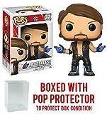 Funko Pop! WWE AJ Styles Vinyl Figure (Bundled with Pop BOX PROTECTOR CASE)