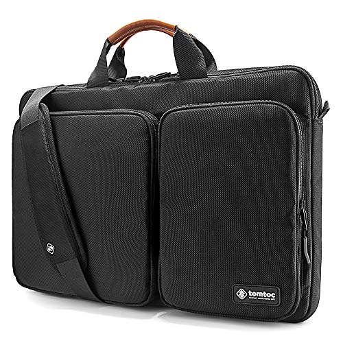 tomtoc Original 360° Protective Laptop Shoulder Bag Compatible with 17