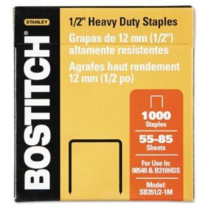 BOSSB35121M - Stanley Bostitch Heavy-Duty Staples