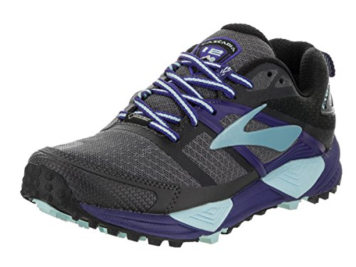 Damen Cascadia 12 Gtx Schuhe Zwart Ebbenhout-clematis Blue