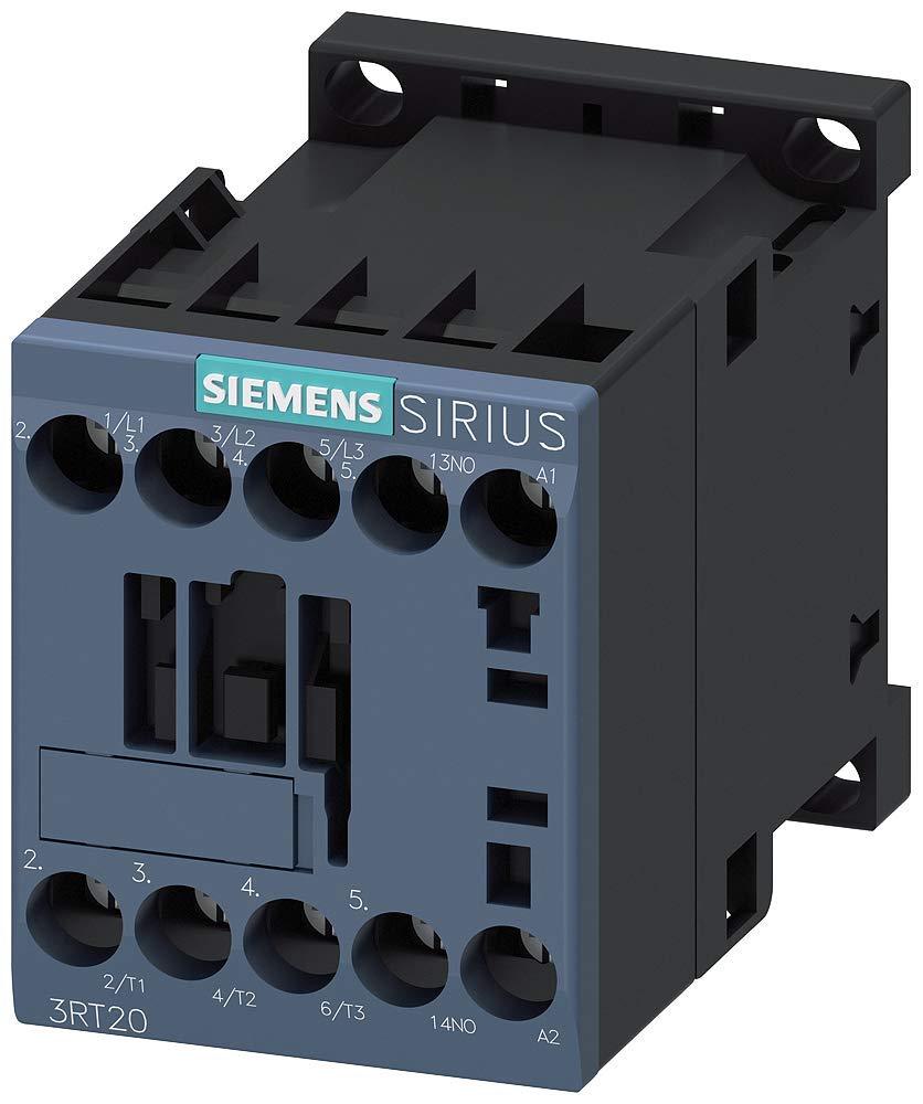 SIEMENS CONTACTOR 4KW//400V 3RT2016-1AV01 AC-3 AC 400V, 1NO