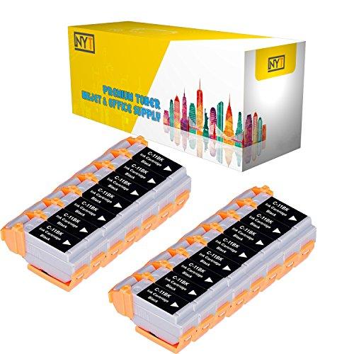 New York Toner New Compatible 15 Pack BCI-11BK Black High Yield Inkjet For - BJCAN-70 . -- - 11bk Inkjet Bci