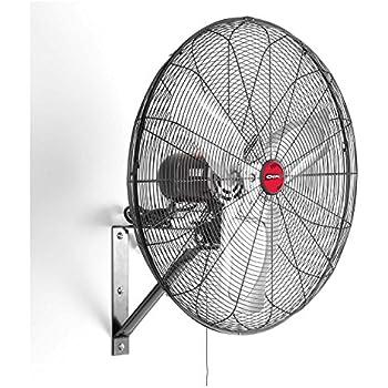oscillating wall fan. OEMTOOLS 24883 24 Inch Oscillating Wall Mount Fan M