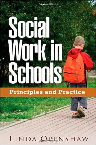 Amazoncom Social Work In Schools Principles And Practice