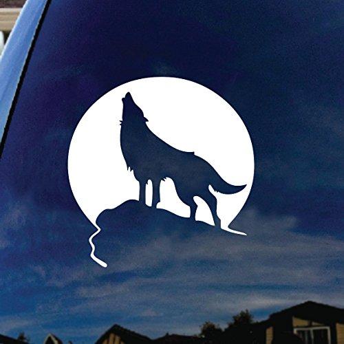 wolf window decal - 1