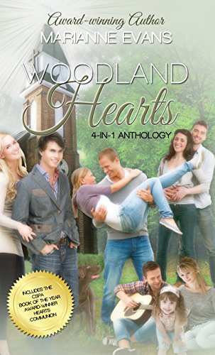 Woodland Hearts: a 4-in-1 Anthology (Woodland Church) (Woodlands One Light)