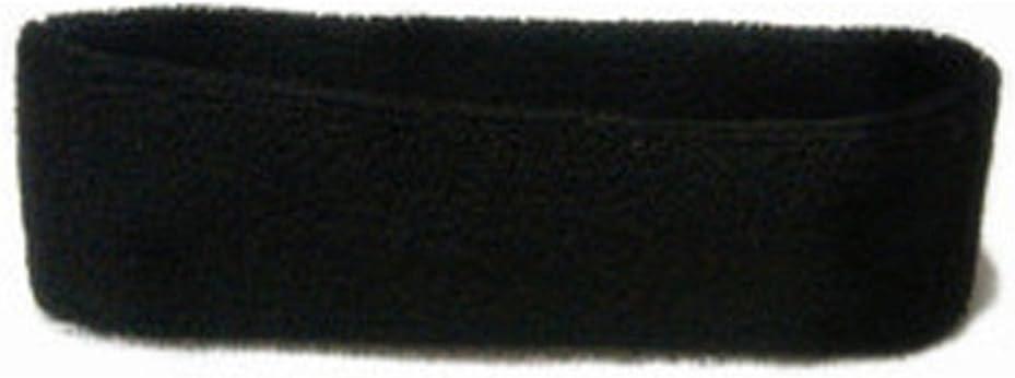 ZHOUBA Unisex Sports Yoga Sweatband Headband Fashion Gym Stretch Head Band Hair Band