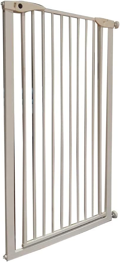 RENJUN Puerta de Seguridad para niños Escalera para bebés Puerta antirrobo barandilla Aislamiento para Mascotas Puerta Altura del punzón Libre Colchón (Color : H80cm, Size : 65-70cm): Amazon.es: Hogar