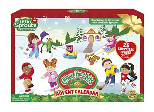 Cabbage Patch Kids Little Sprouts Advent Calendar, Countdown to Christmas by Cabbage Patch Kids