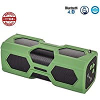 Bluetooth Speakers, Portable Wireless Speaker with Dual 3W Super Stereo Sound,Strong Bass,Waterproof IPX5, 4000mAh Battery And 14-Hour Playtime, Outdoor Speakers for iPhone, iPad, Samsung Etc. Clearan