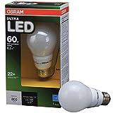 osram ultra led 60w bulb - OSRAM 8.5-Watt (60W Equivalent) A19 Medium Base Dimmable Soft White LED Bulb ENERGY STAR