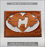 Cheap Dog Memorial Tea Light • Breeds AKITA thru CANE CORSO ○Personalized○Pet Loss○Sympathy○Remembrance○Candle Holder