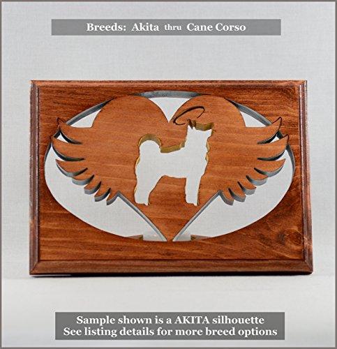 Dog Memorial Tea Light • Breeds AKITA thru CANE CORSO ○Personalized○Pet Loss○Sympathy○Remembrance○Candle (Bulldog Candle Holder)