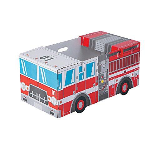 Kid's Fire Truck Box Costume -